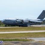 Royal Air Force C17 Emergency Plane Landing Bermuda, May 11 2014-15
