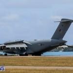 Royal Air Force C17 Emergency Plane Landing Bermuda, May 11 2014-18
