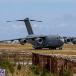 Royal Air Force C17 Emergency Plane Landing Bermuda, May 11 2014-22