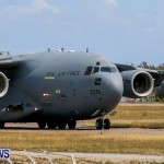 Royal Air Force C17 Emergency Plane Landing Bermuda, May 11 2014-23