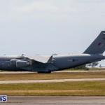 Royal Air Force C17 Emergency Plane Landing Bermuda, May 11 2014-26