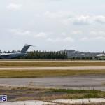 Royal Air Force C17 Emergency Plane Landing Bermuda, May 11 2014-28