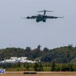 Royal Air Force C17 Emergency Plane Landing Bermuda, May 11 2014-9