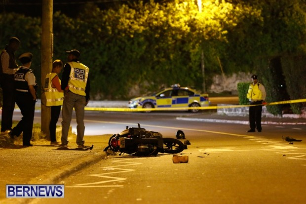 Warwick Accident Bermuda, May 17 2014-1