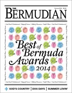 Best of Bermuda Magazine cover
