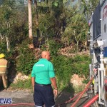 Paget Brush Fire Bermuda, June 20 2014-1