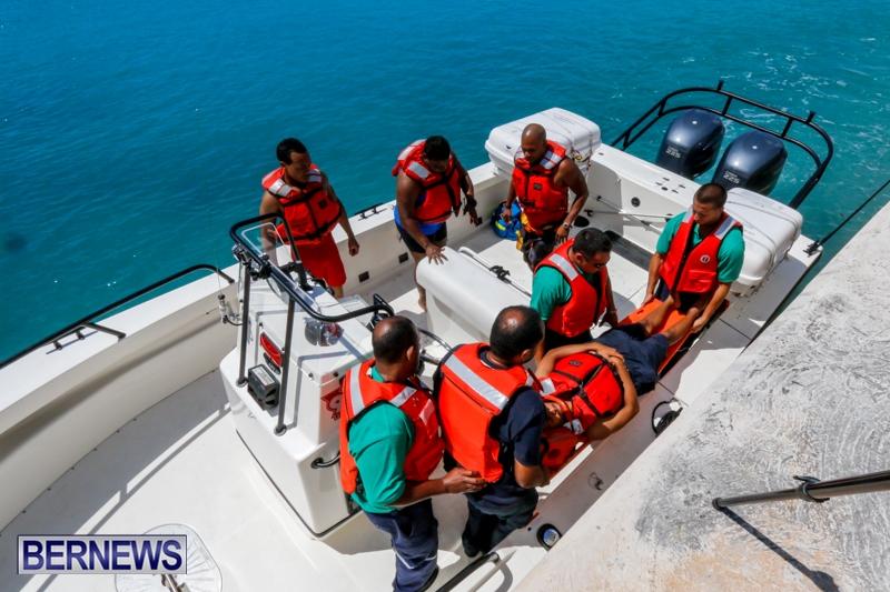 Bermuda Fire & Rescue Service Marine Boat, July 9 2014-15