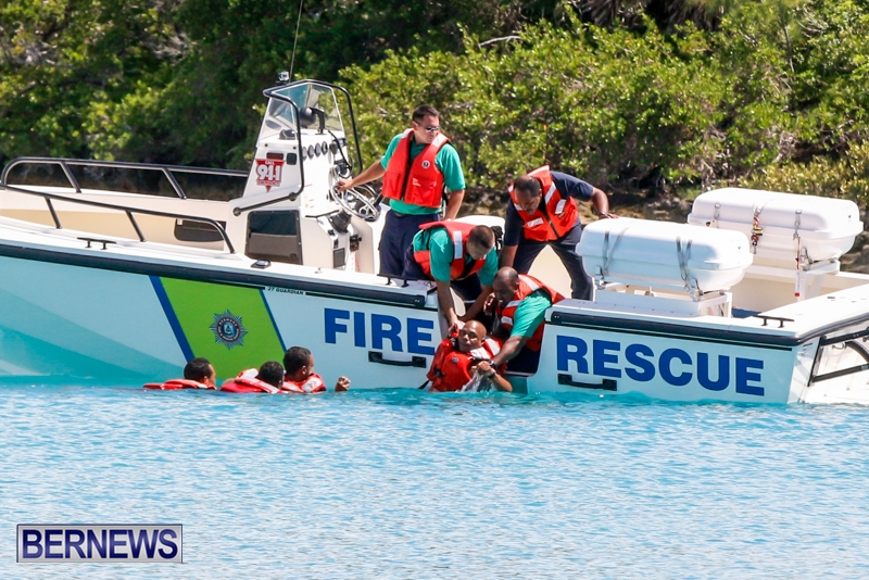 Bermuda Fire & Rescue Service Marine Boat, July 9 2014-5