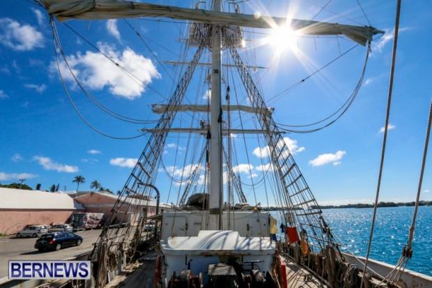 TS Lord Nelson Training Tall Ship Bermuda, July 20 2014-14