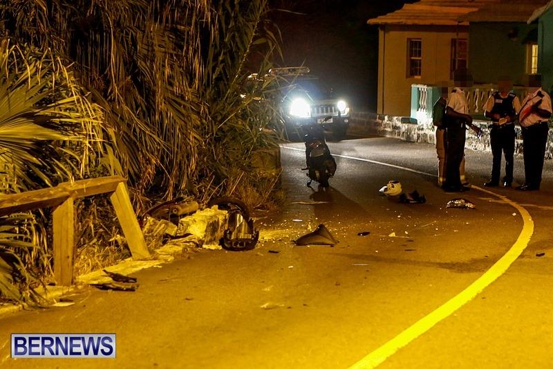 Accident Bermuda, August 22 2014-2