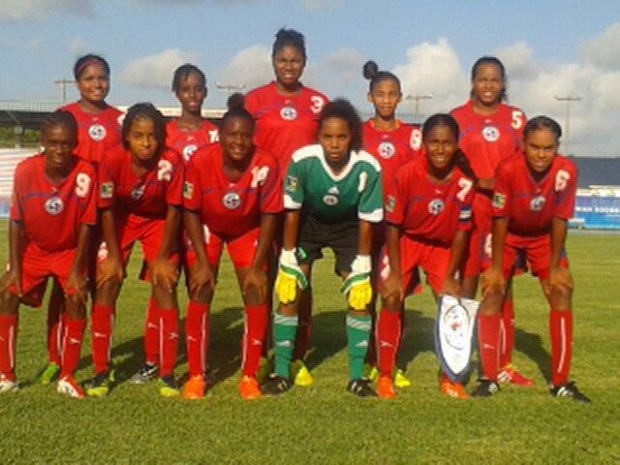 bermuda u15 girls football team aug 14
