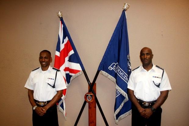 2014 Promotion Ceremony Inspector Paul Simons & Inspector Steve Nurse