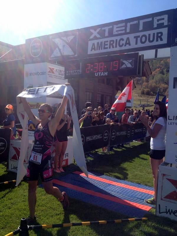 Flora Duffy Xterra win Sept 14