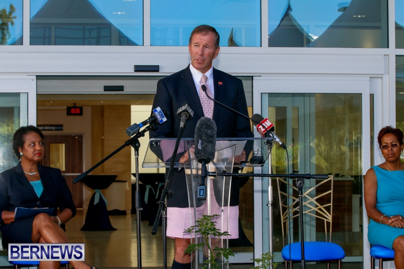 Hospital Acute Care Wing Ribbon Cutting Bermuda, September 9 2014-1