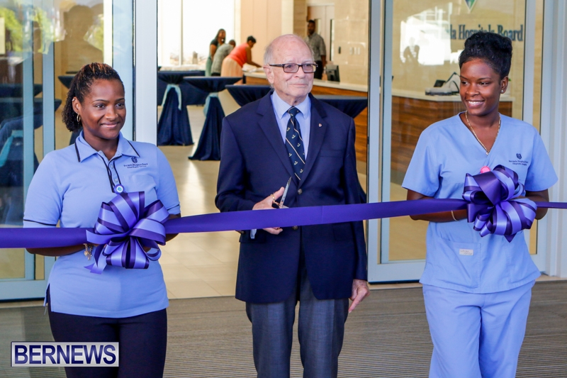 Hospital Acute Care Wing Ribbon Cutting Bermuda, September 9 2014-2