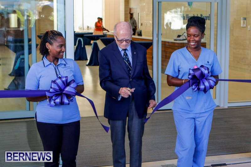 Hospital Acute Care Wing Ribbon Cutting Bermuda, September 9 2014-3