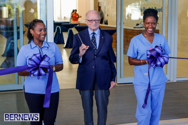 Hospital Acute Care Wing Ribbon Cutting Bermuda, September 9 2014-4