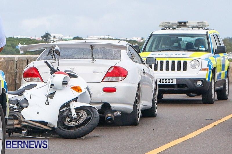 Police Bike Accident Bermuda, September 29 2014-1-2