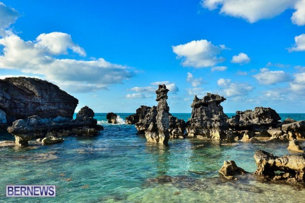 Rocks at Bermuda Tobacco Bay Beach generic 14