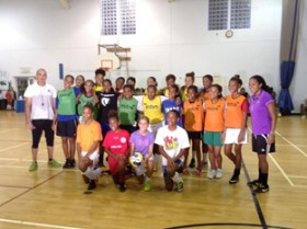CP Athletic Development Academy hosts first Female Futsal ID Session