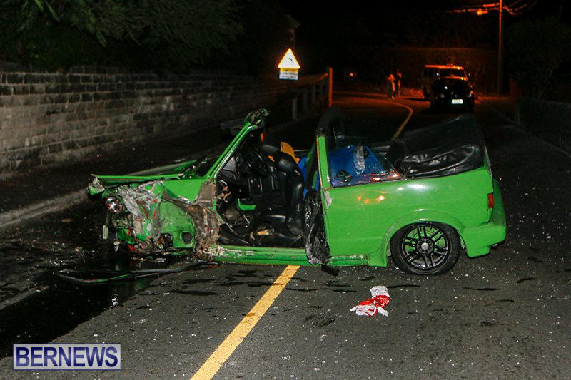 Car Accident Bermuda, October 9 2014-1
