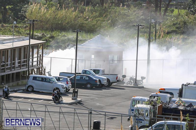 Engine Fire Pembroke Dump Bermuda, October 31 2014-2