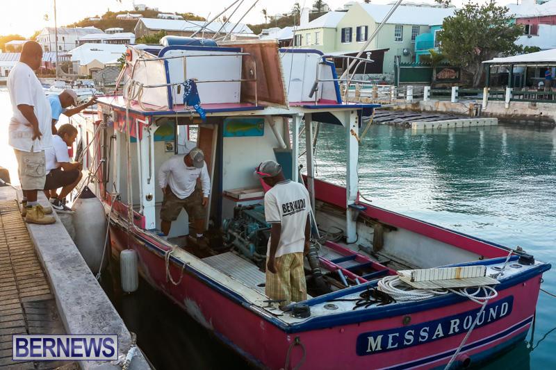 Mess Around Hurricane Gonzalo Bermuda, October 20 2014-1