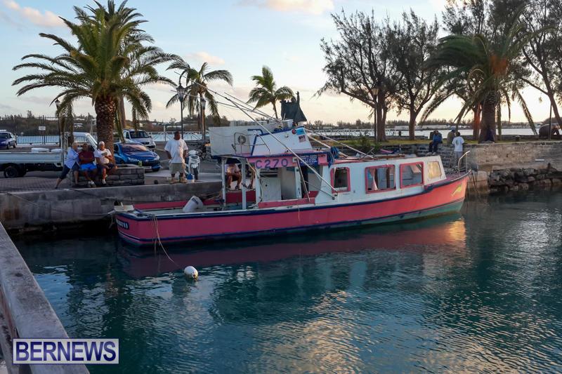 Mess Around Hurricane Gonzalo Bermuda, October 20 2014-2