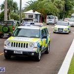 Police Motorcade Bermuda, October 1 2014-12