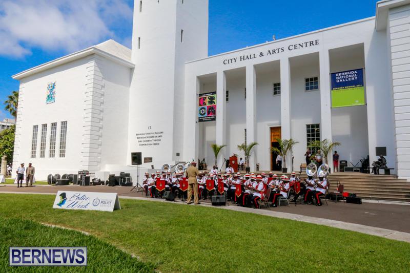 Royal Bahamas Police Force Band Concert City Hall Bermuda, October 8 2014