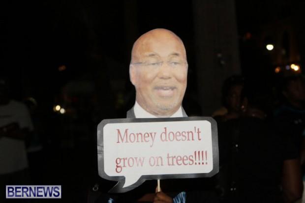 SAGE Meeting protest Bermuda October 2014 (1)