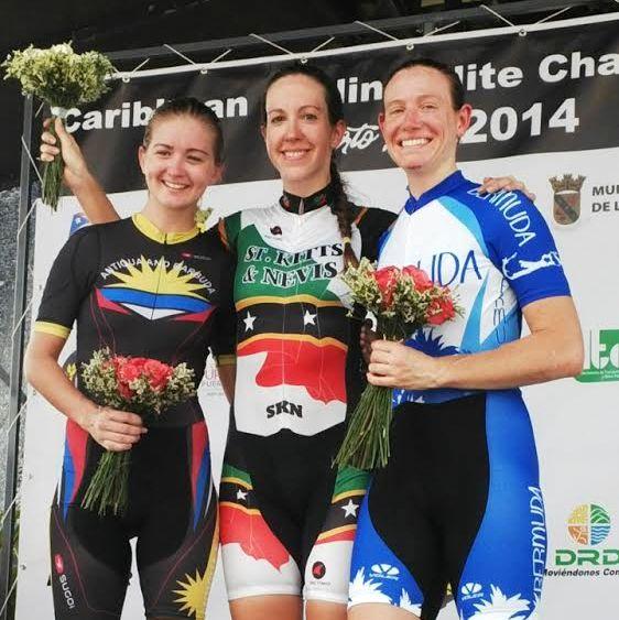 cycling medal bermuda october 2014