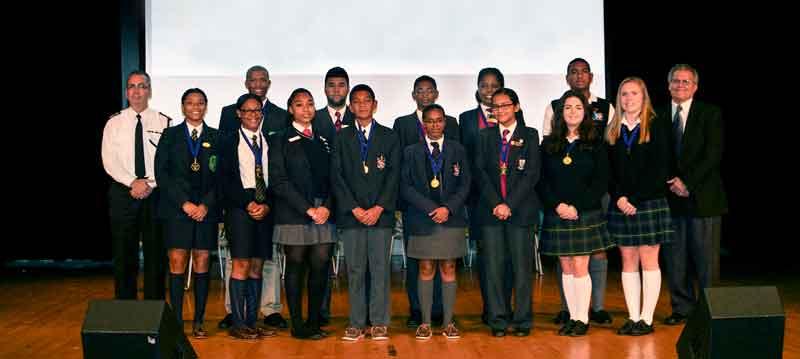 2014-Commissioner's-Vision-Awards-Senior-School-Recipients
