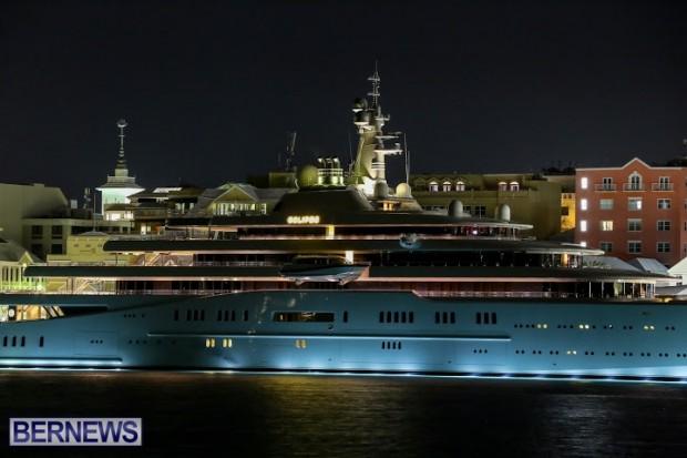 Eclipse Motor Yacht Bermuda, November 8 2014-19