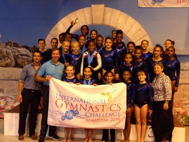 IGC Bermuda team with Premier