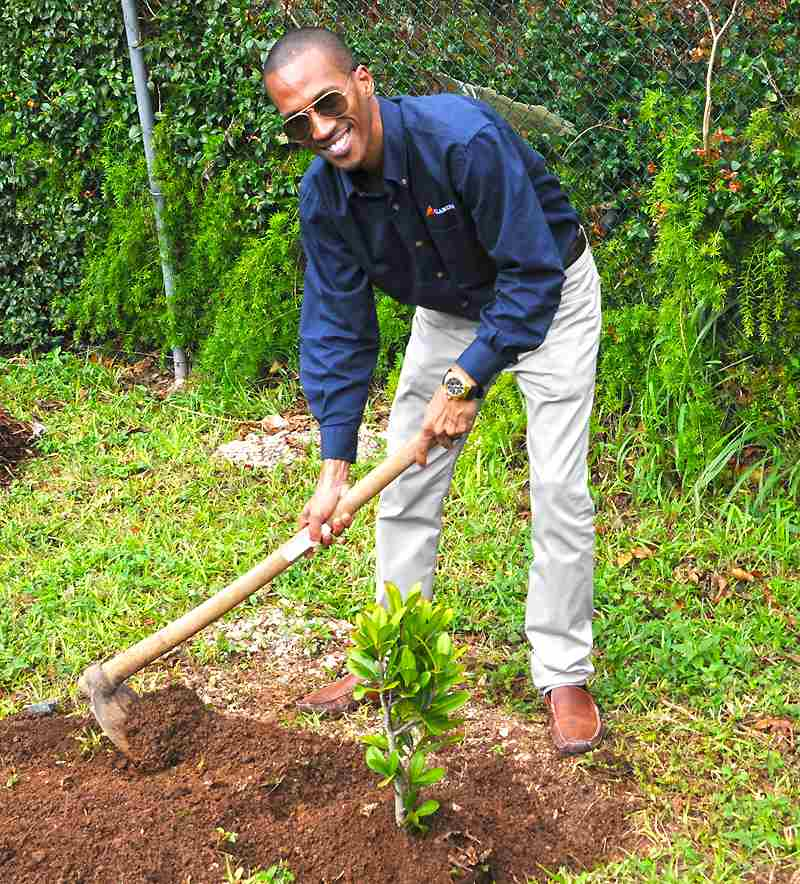 Press Release - Clarien WindReach Reforestation Project Photos (1)