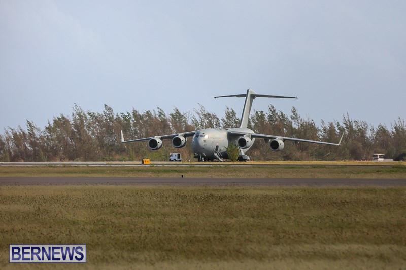 RAF Royal Air Force Plane Bermuda, November 2 2014-1