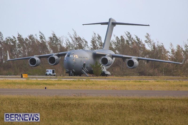 RAF Royal Air Force Plane Bermuda, November 2 2014-2