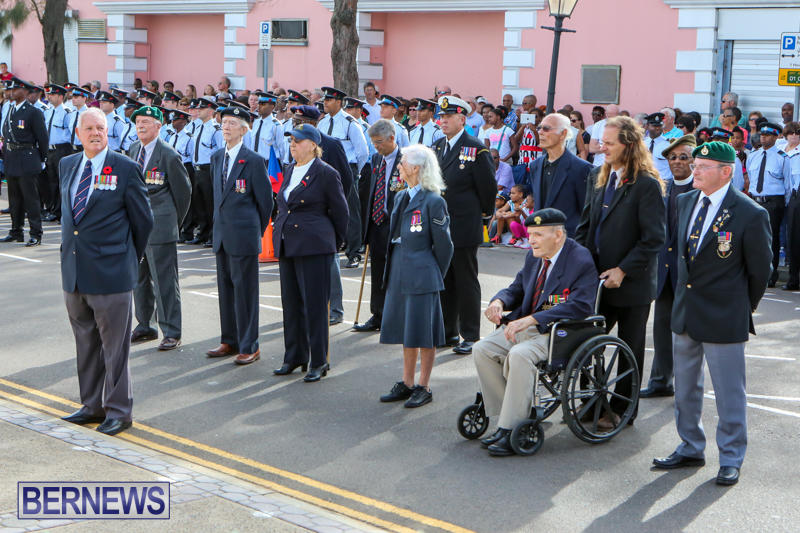 Remembrance Day Bermuda, November 11 2014-52
