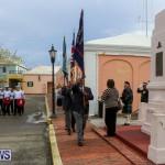 Remembrance Day Observed Bermuda, November 9 2014-1