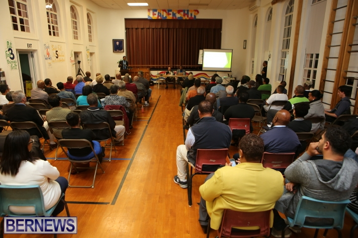 PLP Town Hall meeting airport 2014
