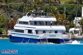 Rhode Island Fast Ferry Millennium, St George's Bermuda May 21 2013-3