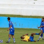Shield Semi Final Football Bermuda, December 26 2014-12