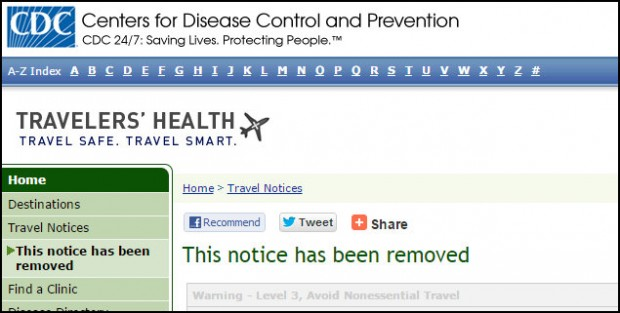 CDC removed 21