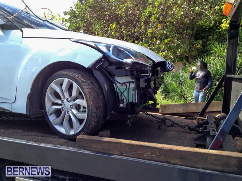 Car Accident Bermuda, January 10 2015-1