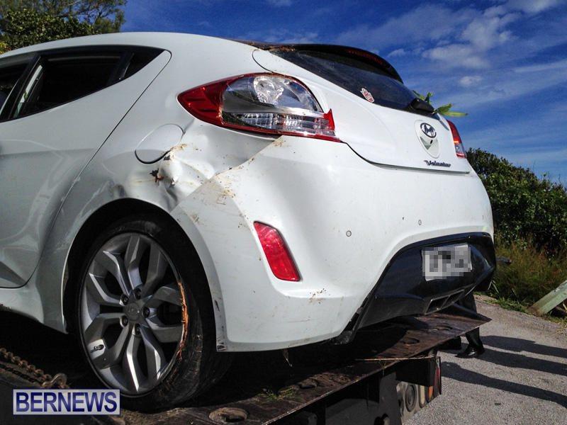 Car Accident Bermuda, January 10 2015-3
