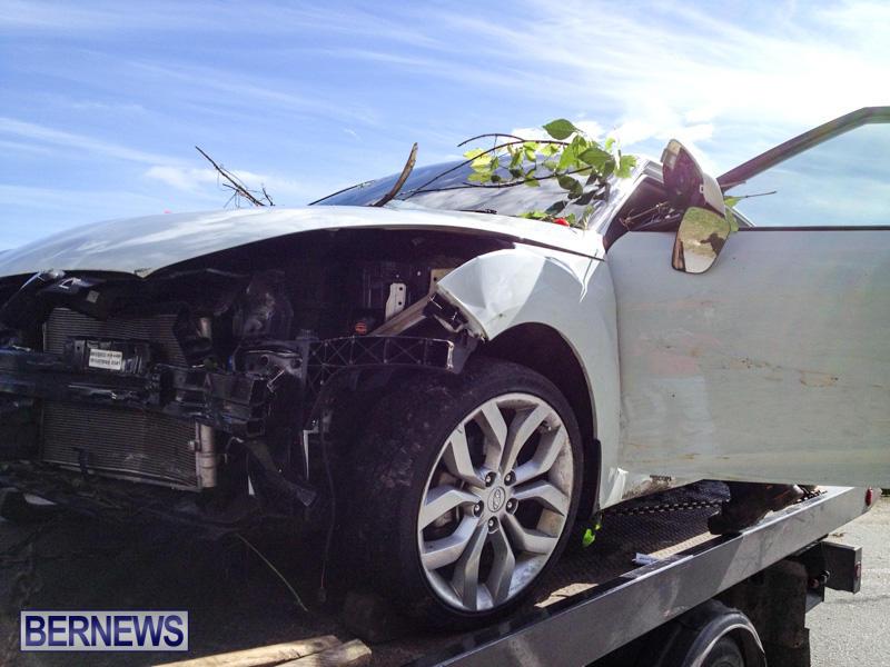 Car Accident Bermuda, January 10 2015-4