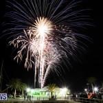 New Years Eve Fireworks Bermuda, December 31 2014-7