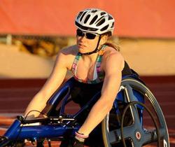 Paralympian Jessica Lewis