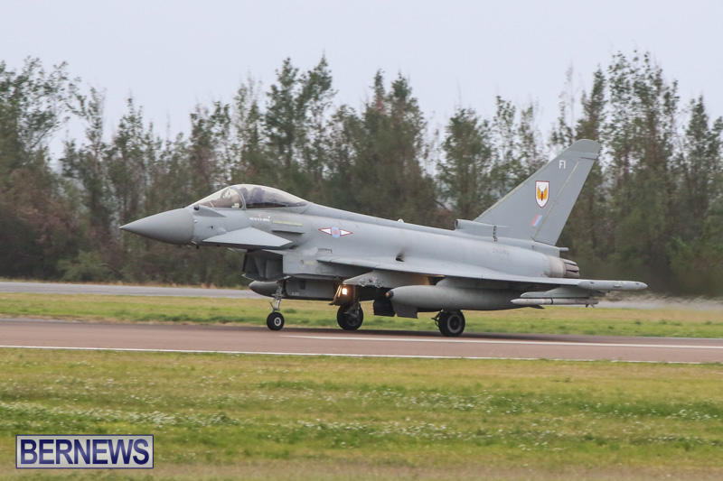 Royal-Air-Force-RAF-Typhoon-A330-200-Voyager-Bermuda-January-6-2015-2